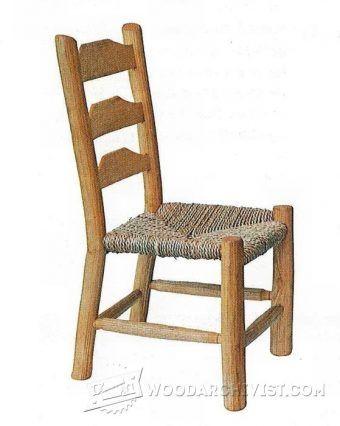 Kids Rocking Chair Plans - Children's Furniture Plans and Projects   WoodArchivist.com