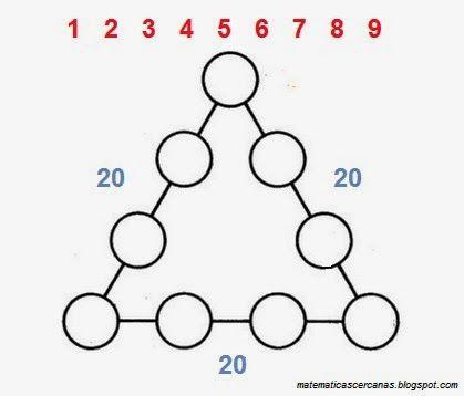 Acertijo Triangulo De Numeros Desarrollo De La Inteligencia