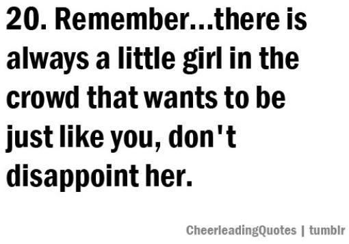 I remember when I was that little girl.