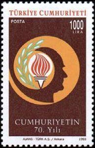 1993 70 Years Republic