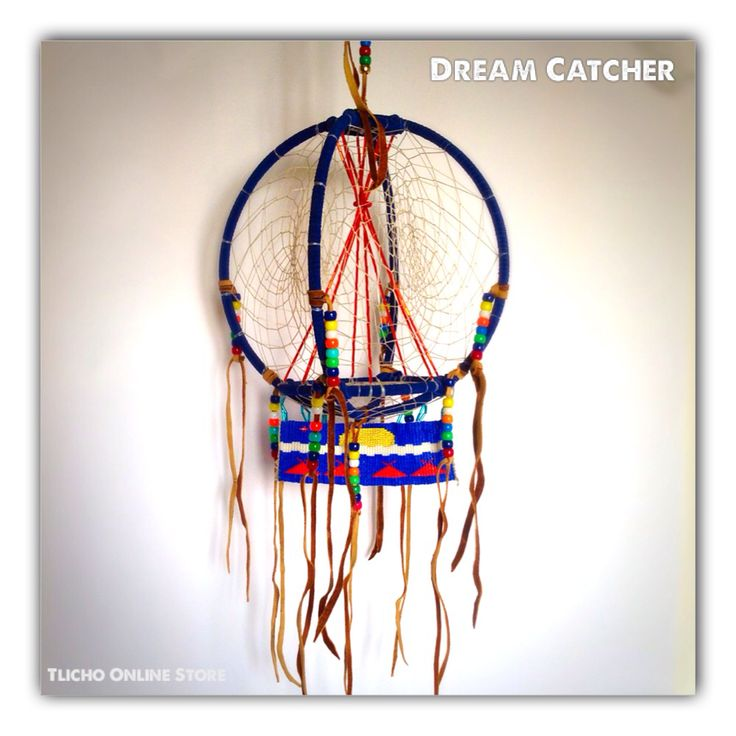 Beautiful #Tipi #Dream Catcher made by a #Tlicho from #Behchoko, NT.  http://onlinestore.tlicho.ca/products/tipi-dream-catcher