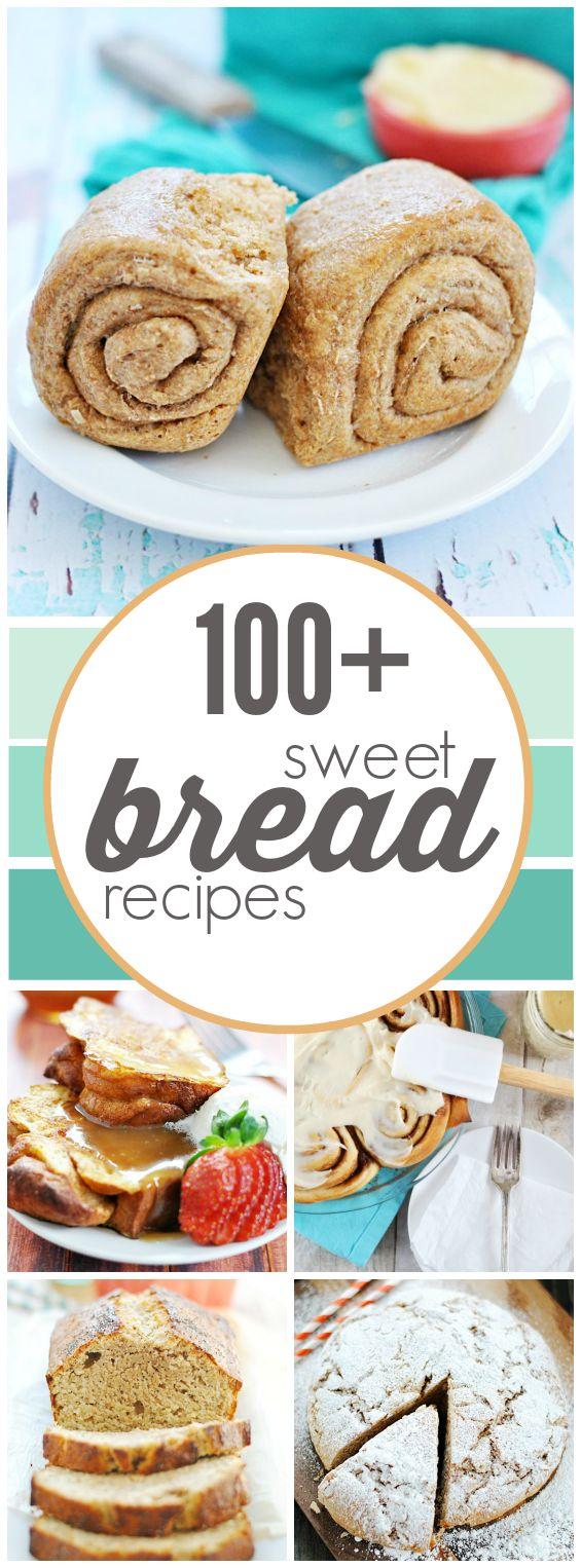 100+ Sweet Bread Recipes | www.somethingswanky.com