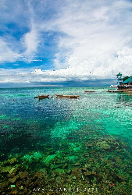 Nalusuan island, Mactan Islands, Cebu City Philippines
