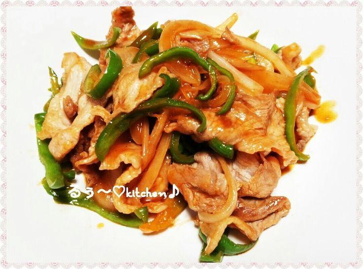 豚肉とピーマンと玉ねぎのケチャップ炒め♪ by るぅ~♡ [クックパッド] 簡単おいしいみんなのレシピが227万品