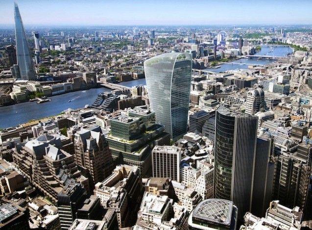 Di London, Gedung Pencakar Langit Mendapat Penentangan