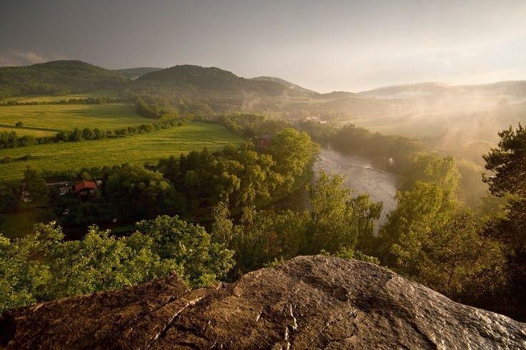 Vyhlídka na řeku Ohře
