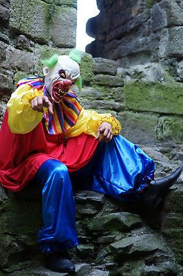 Halloween/Horror/Creepy/KILLER EVIL CLOWN Fancy Dress Costume Size sml-xxxxl in Clothes, Shoes & Accessories, Fancy Dress & Period Costume, Fancy Dress | eBay
