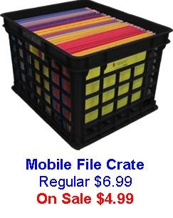 Stackable File Crate