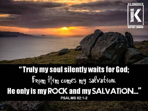 """Psalms 62:1-2 
