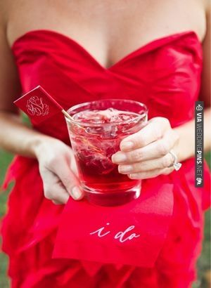 red signature cocktail | CHECK OUT MORE IDEAS AT WEDDINGPINS.NET | #weddings #redwedding #red #passion #events #forweddings