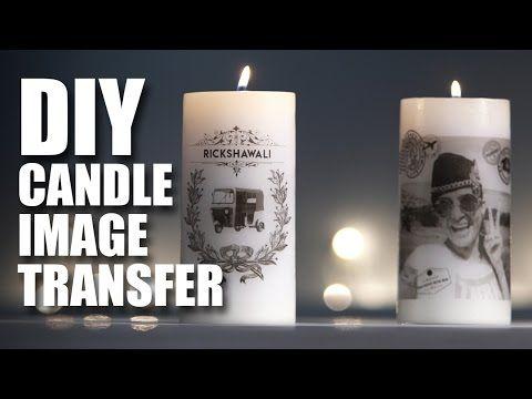 DIY Candle Image Transfer feat. Rickshawali | Room Decor Ideas | Mad Stu...