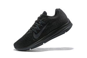 Mens Sneakers Nike Air Zoom Winflo 5 Black Anthracite AA7406 002 ... f42b0249f