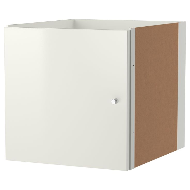 IKEA - KALLAX, Insert with door, high gloss white for vanity top right and bottom left