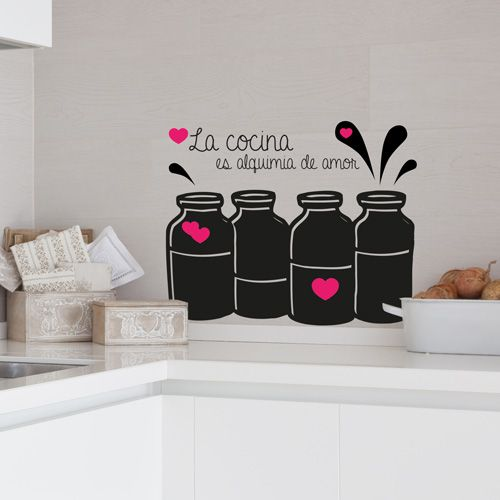 vinilo para decorar tu cocina podrs compaginar dos