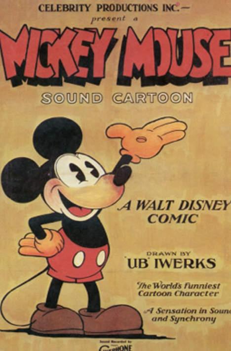 Oudste filmposter Mickey Mouse geveild voor 100.000 dollar - Kunst & Literatuur - De Morgen
