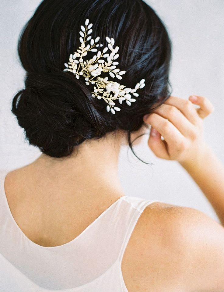 MARGEAUX HAIR PIN - GOLD