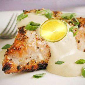 ¡Ligera y fácil de hacer! Filete de pescado al limón es muy saludable y sabe delicioso.