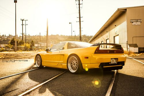 Honda NSX. A replica of one of the models of Ferrari yet a classic from the Japanese sport cars!