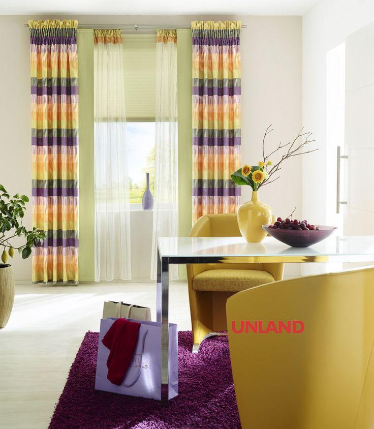 Unland SpringColours Fensterideen Vorhang Gardinen Und Sonnenschutz