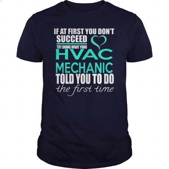 HVAC MECHANIC - IF YOU - #men dress shirts #polo sweatshirt. BUY NOW => https://www.sunfrog.com/LifeStyle/HVAC-MECHANIC--IF-YOU-Navy-Blue-Guys.html?60505
