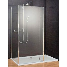 Paroi de douche Walk In Square III 90/90/30 cm + anti-calcaire - this is about 600 but would need new tray, and we need to check if we could get a right hand version