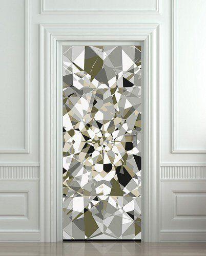 "fun! Needs to be the door to my closet! LOL Door cover STICKER poster diamond rhinestone crystal film 30x79"""