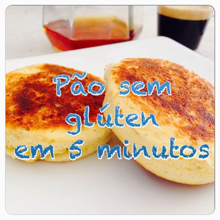 Pão sem glutén em 5 minutos: alimento para sobrevivência!
