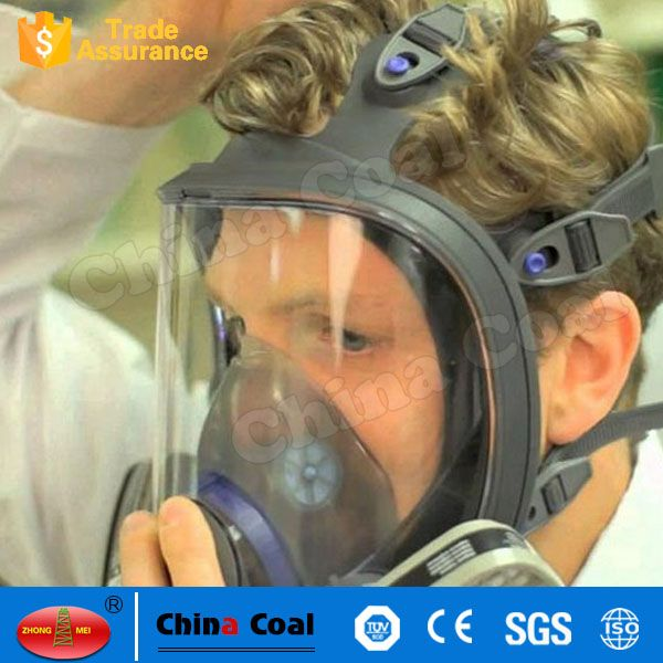 6800 Full Facepiece Reusable Respirator Silicone Gas Face Mask