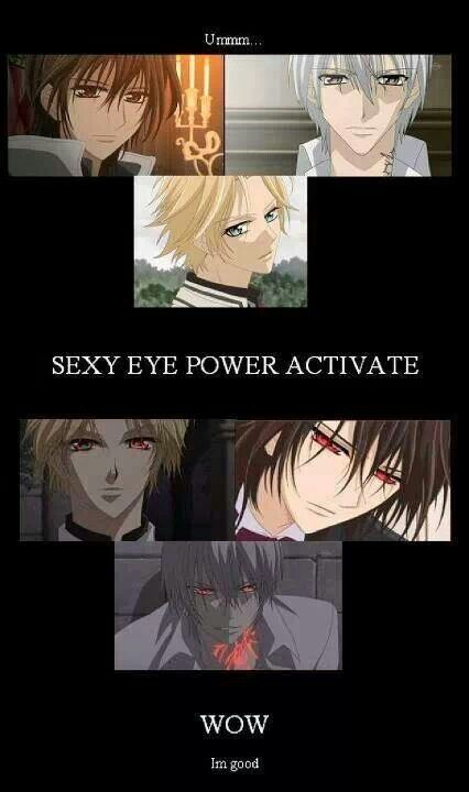 Vampire knight activation!!