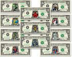 Details about MARVEL CHARACTERS on a REAL Dollar Bill Cash Money Collectible Memorabilia Bank