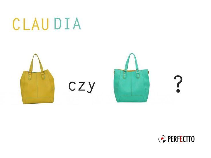 Latem warto pobawić się kolorem. :D A do tego celu idealne są torebki CLAUDIA: http://bit.ly/1FBD77g Która wersja kolorystyczna bardziej się Wam podoba? :)