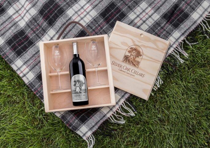 Silver Oak Wine Boxed set