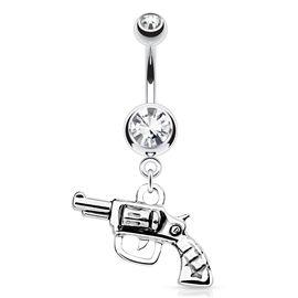 Piercing do pupíku s pistolí PBV00544. Zamiř svůj pupík na pěkného kluka, určitě Ti neodolá! :-)