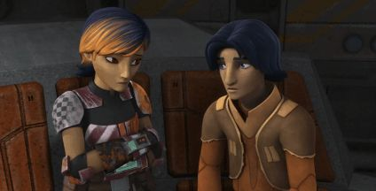 You should watch Star Wars Rebels