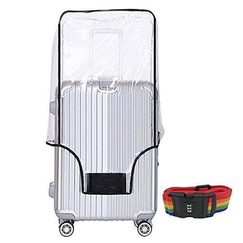 #20 #24 #28 #30 #Inch #Luggage #Cover #Protector #Bag #PVC #Clear #Plastic #Suitcase #Cover #Protectors #Travel #Luggage #Sleeve #Protector for #Carry on #Luggage #Rolling #Wheeled #Suitcase 【Luggage Protector】-- Transparent Protective Covers keep ur #Luggage away from dust, scratched or stained, #Luggage accessories suit for delsey #luggage, samsonite lightweight #luggage set american tourister, bric's, antler, swiss #luggage, jeep, kenneth cole #suitcase etc 【20 #Inch