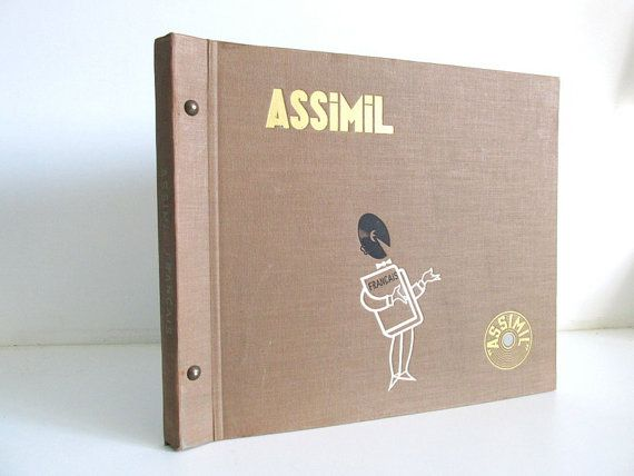 Assimil Francais French Language Course by 4EnvisioningVintage, $52.00