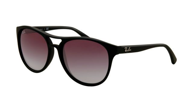 $19.88! #Ray #Ban #Sunglasses Ray Ban RB4170 Sunglasses Rubberized Black Frame Purple Gradient