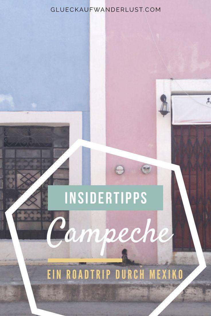 Campeche ist ein wundervolles koloniales Städtchen auf der Halbinsel Yucatán. Die besten Tipps für einen Abstecher nach Campeche findest du hier