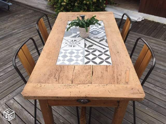 Les 17 meilleures id es de la cat gorie table de ferme sur pinterest table de ferme diy et for Comment avoir un salon de jardin blanc