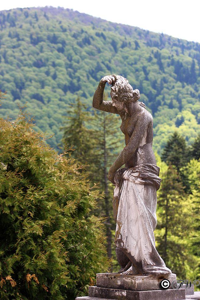 Peles Castle - Statue