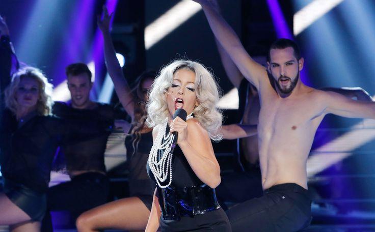 Ruth Lorenzo imita a Lady Gaga en 'Tu cara me suena'