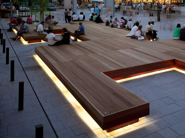 Banco de madera sin respaldo HARRIS ISLAND - Metalco