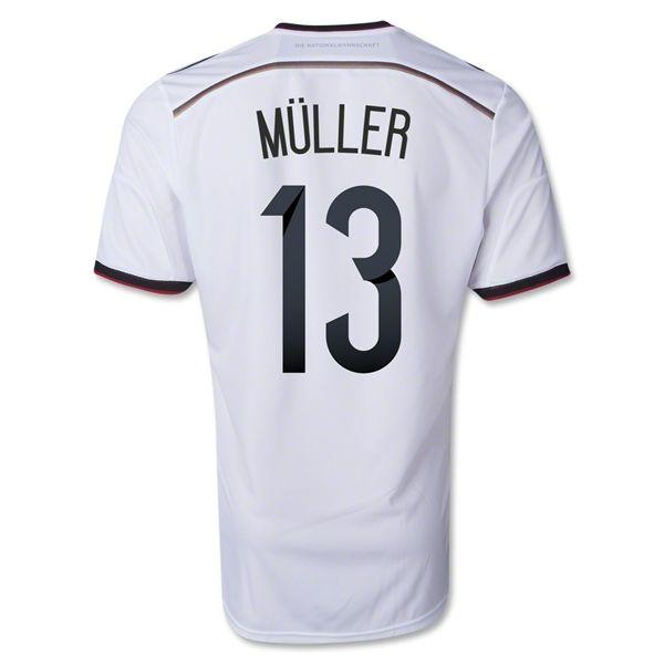 Germany - Home - 2014 World Cup - Adidas - Thomas Muller, 13
