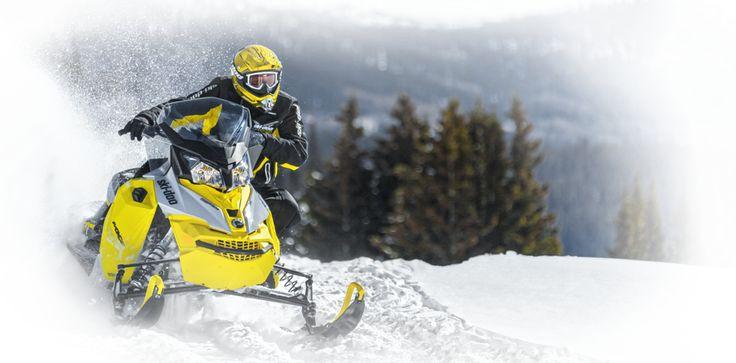 Ski-Doo Snowmobiles USA: Snow Sleds for Sale by BRP