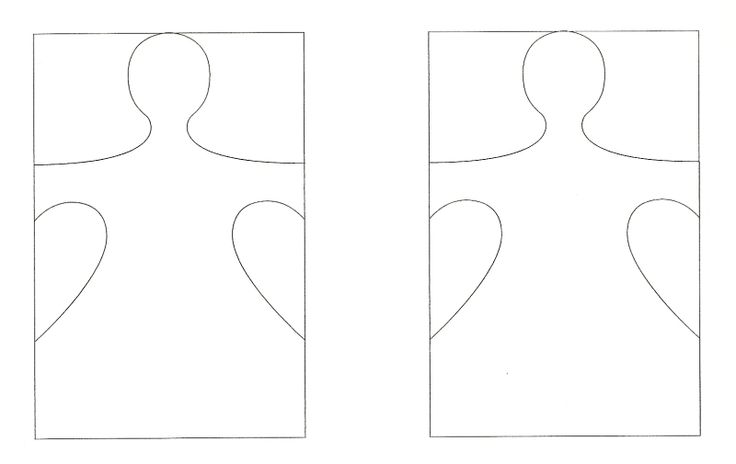 snowman paper chain template - paper doll chain template 1 represents child the others