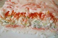 САЛАТ «СУШИ»  Этот салат подходит для любого праздника. Интересен этот пошаговый рецепт тем, что ингредиенты схожи с теми,... Полезная кухня  - Мой Мир@Mail.ru