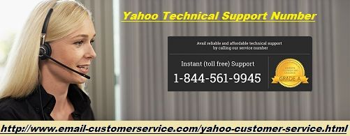 Are you searching for the most appropriate Yahoo mail support desk? Dial at our yahoo customer service phone number 1-844-561-9945 and get the permanent solution of all yahoo email bugs like login problem, server errors, connection failure, password reset issues and much more. The excellent part is that you can connect with our experts anytime and manage your yahoo mail account without any hinderence.