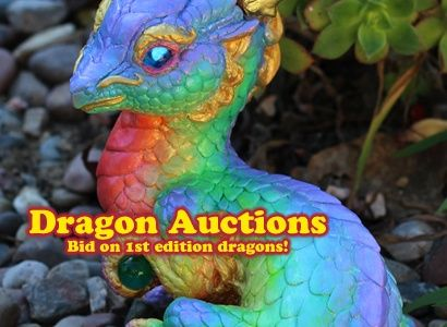 Amazing Dragon Collectibles by Murfle Munchies. Seriously Impressive sculptures! ,