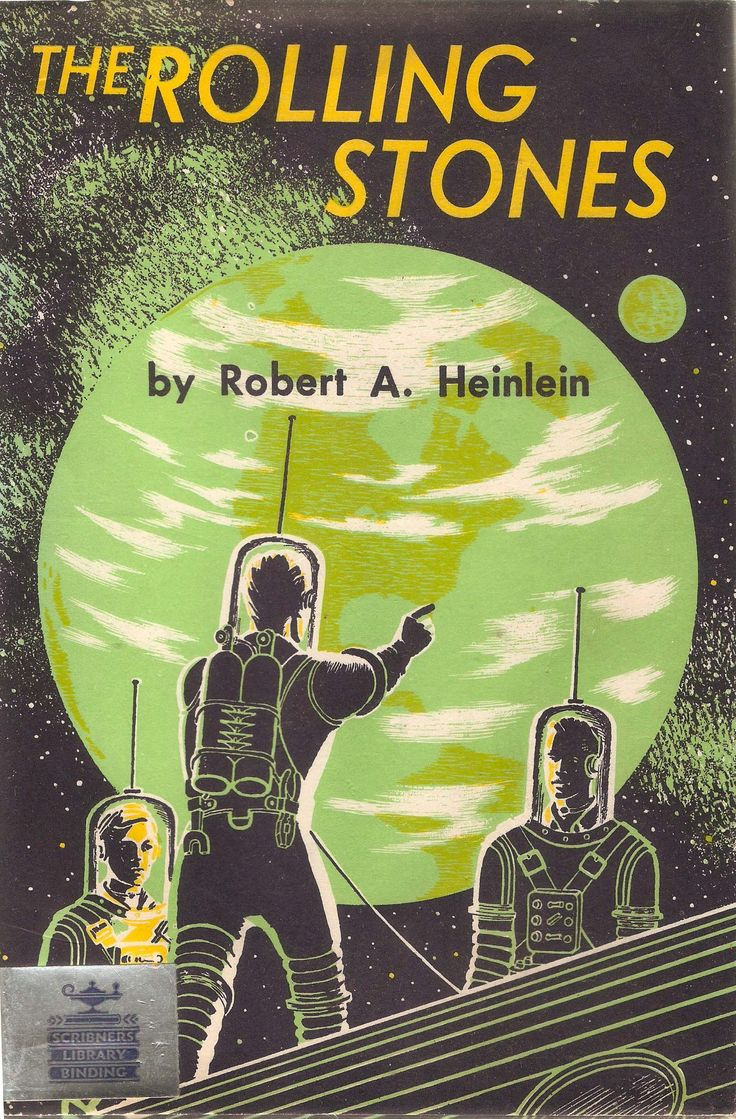 1952 Robert Heinlein novel. One of the first books I read on my own.