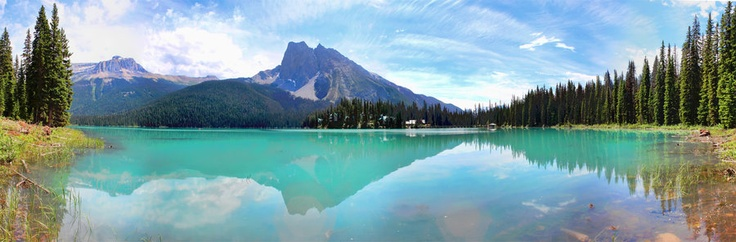 Emerald Lake 6 Picture Pano. Photo by Carl Brownell/Joe-Lynn Design